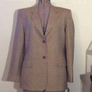 NWT Talbots beige casual/office blazer # 10 P